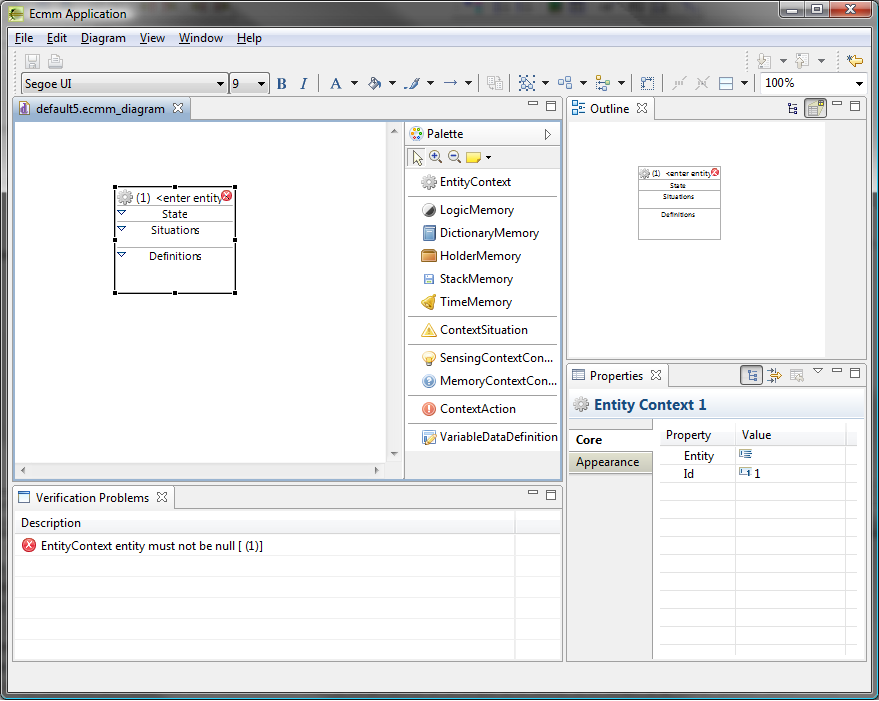 CAUCE model editor sample